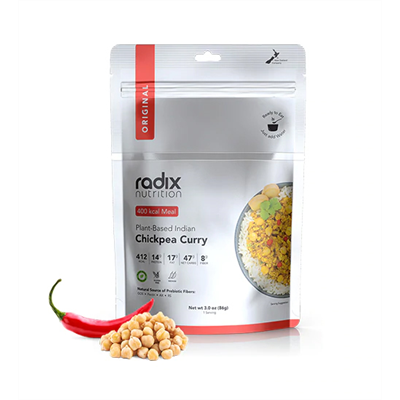 Radix - Performance 600 Plant Based Indian Style Chickpea Curry